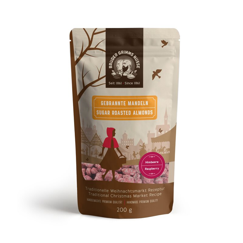 Brüder Grimms Nüsse - Sugar Roasted Almonds - Rasberry