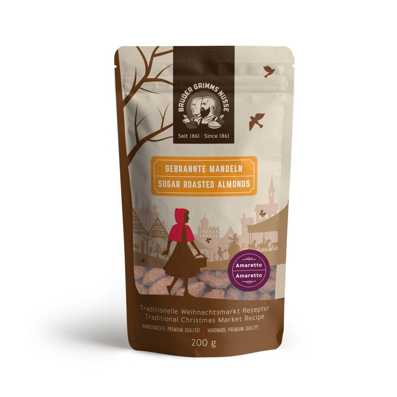 Brüder Grimms Nüsse - Sugar Roasted - Type Armaretto 100g