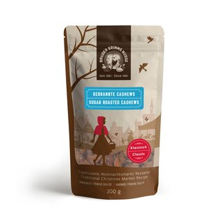 Brüder Grimms Nüsse - Sugar Roasted Cashews - Classic